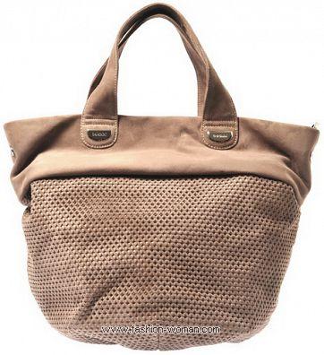Замшевая сумка Балденини
