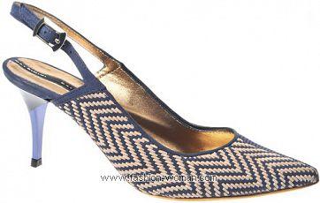 Туфли с открытой пяткой от Baldinini
