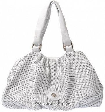 Белая сумка от Балденини весна-лето 2011