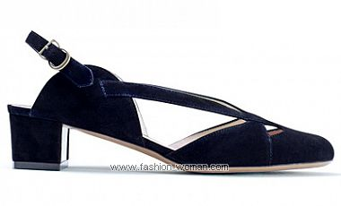 модная обувь на низком ходу