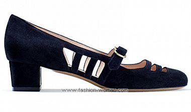 модная обувь на низком ходу весна-лето 2011