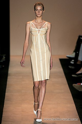 Бандажные платья от Hervé Léger by Max Azria