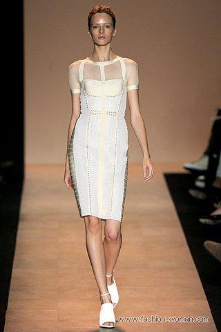 модные бандажные платья весна-лето 2011