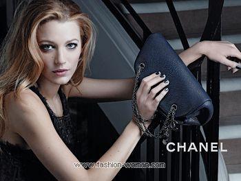 Блейк Лайвли в рекламе сумок Mademoiselle от Chanel