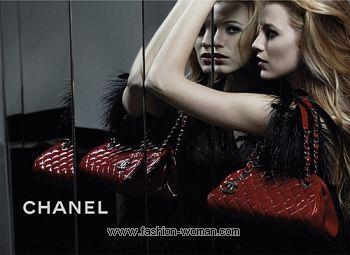 Блейк Лайвли в рекламе Шанель
