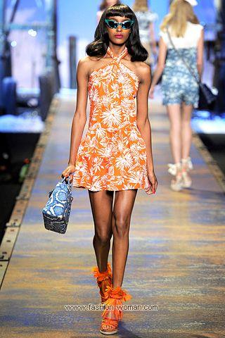 Модный сарафан от Christian Dior