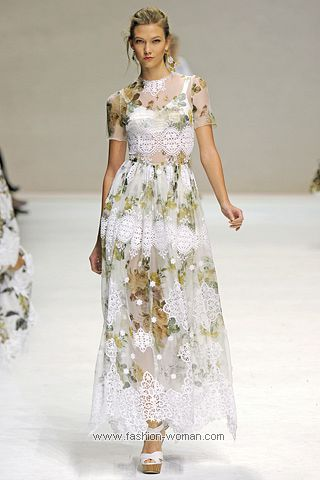 Летнее плтье от Dolce_&_Gabbana