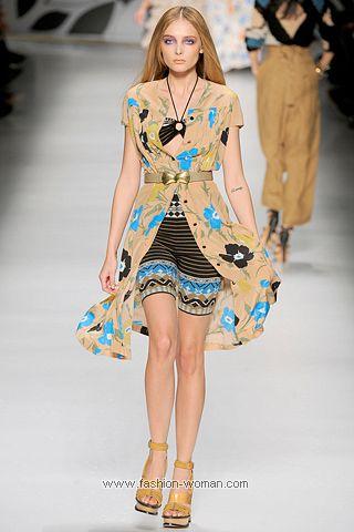 Модная туника весна-лето 2011