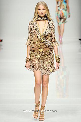 Коктейльное платье с леопардовым принтом