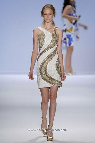 Нарядное платье весна-лето 2011 от Carlos Miele
