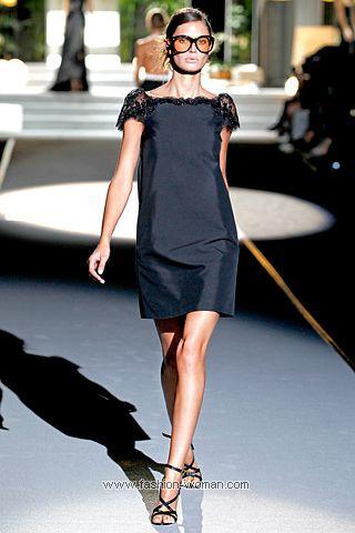 Маленькое черное платье от Dsquared