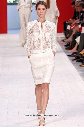 Кружевная блуза Brioni