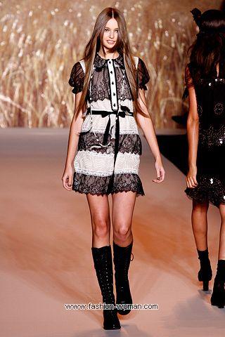 Модное платье весна-лето 2011