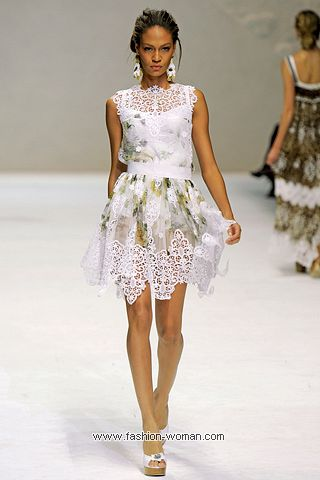 Модное платье от Dolce & Gabbana