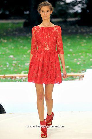 Кружевное платье от Erdem