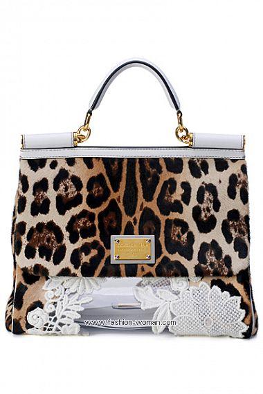 Модные сумки весна-лето 2011 от Dolce & Gabbana
