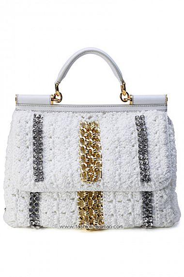 Вязаная сумка от  Dolce & Gabbana