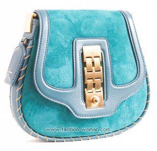 Голубая сумка от Louis Vuitton весна-лето 2011
