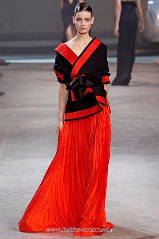 Плиссированная макси-юбка от Haider Ackermann