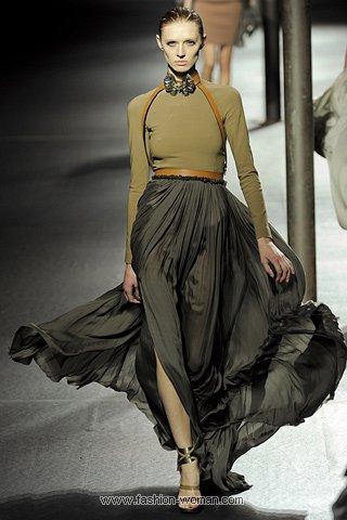 Модная макси-юбка весна-лето 2011