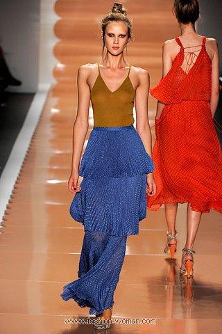 Модная плиссированная юбка от Rebecca Taylor