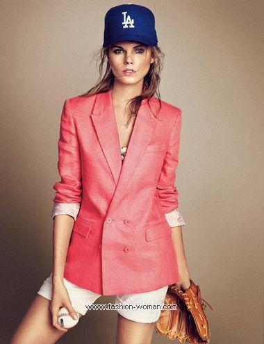 Модный пиджак весна-лето 2011 от Манго
