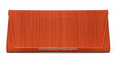 Клатч-конверт из текстиля