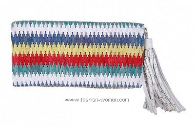 Текстильный клатч