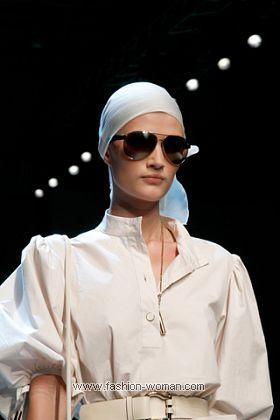 модные головные уборы Salvatore Feragamo весна-лето 2011
