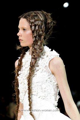 Оригинальные плетения из волос