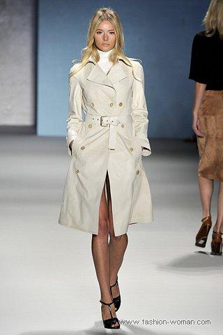 Модный тренч весна 2011