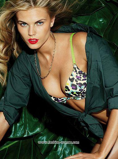 Марина Линчук в рекламе Victoria's Secret