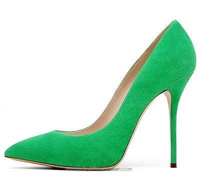 Модные туфли на шпильке Casadei