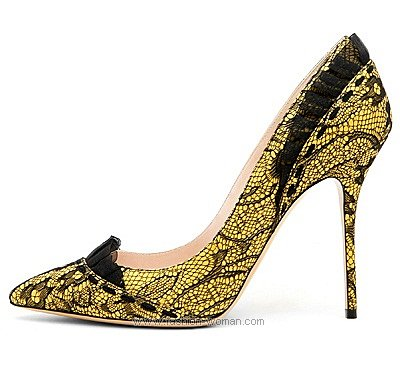 Кружевные туфли от Касадеи