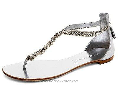 Нарядные сандалии