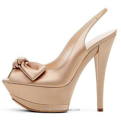 Нарядные Шелковые туфли
