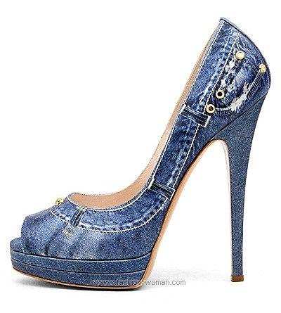 Модные женские туфли весна 2011