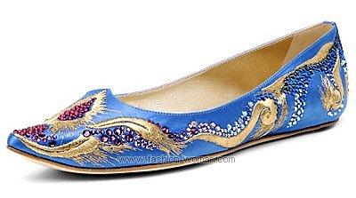 Обувь в восточном стиле Casadei весна-лето 2011