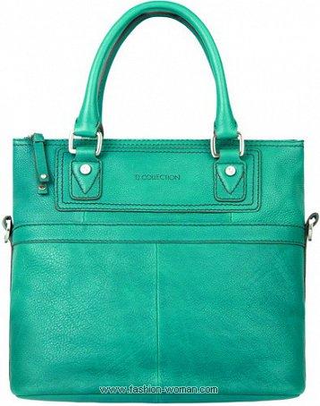 Голубая сумка от TJ Collection весна-лето 2011