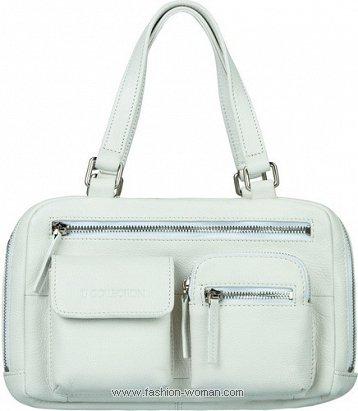 белая сумка TJ Collection весна-лето 2011