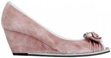 замшевые туфли TJ Collection весна-лето 2011