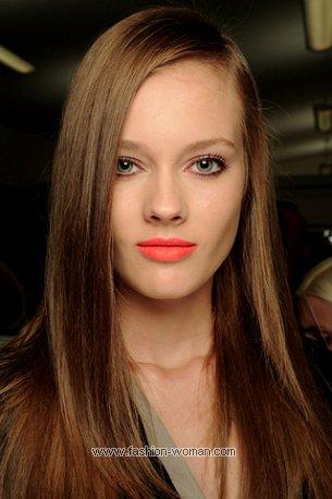 Модный макияж 2011 от  Fendi