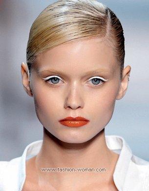 Модный макияж от Viktor Rolf весна-лето 2011