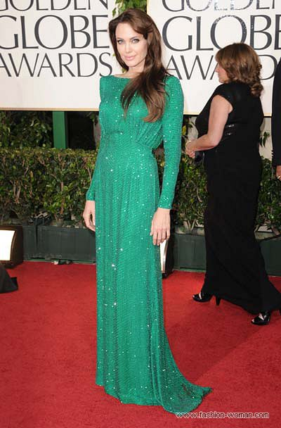Анджеліна Джолі у сукні Atelier Versace