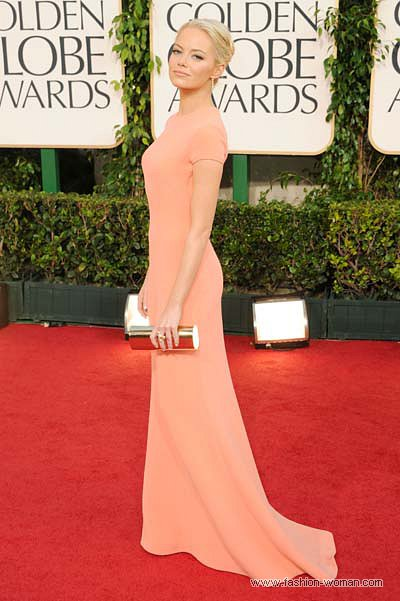 Емма Стоун у сукні Calvin Klein