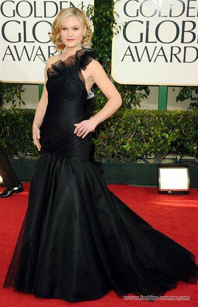 Julia Stiles у сукні Romona Keveza