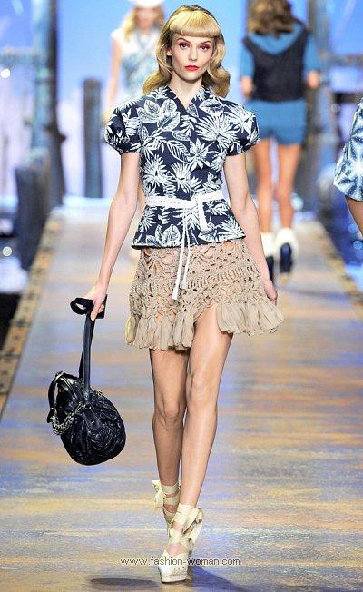 Модная юбка от Christian Dior