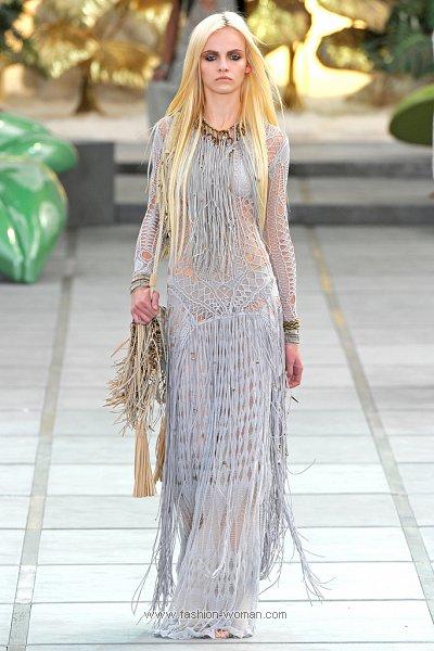 Плетеное платье от Roberto Cavalli