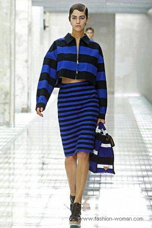 Модная полоска от Prada