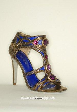 Вечерняя обувь от Sergio Rossi